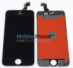 Apple iPhone 5C LCD + Digitiser Black - High Quality